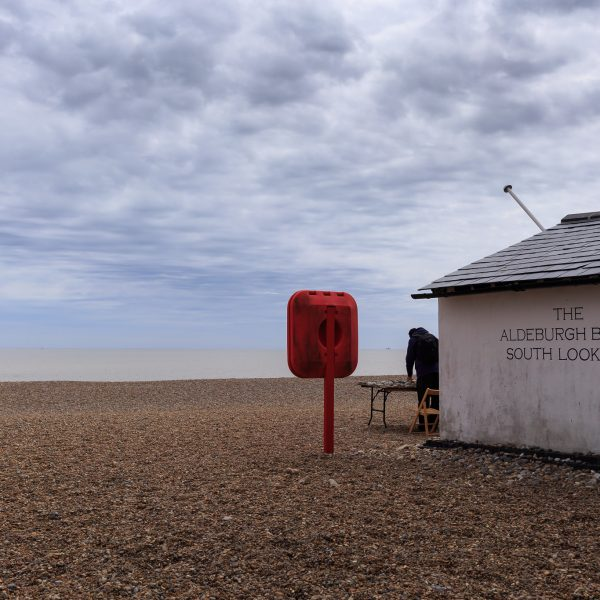 The Aldeburgh beach south lookout