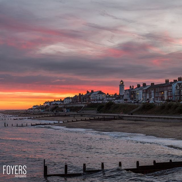 Sunset at Southwold