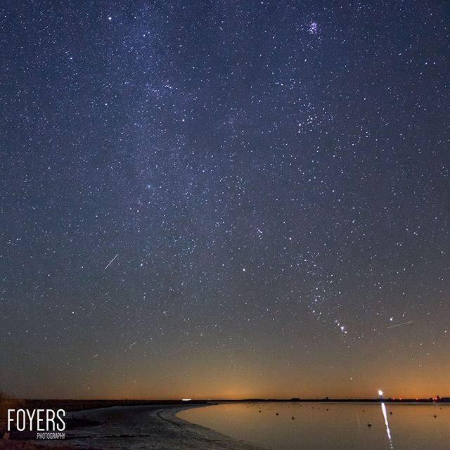 Busy editing photographs from tonights trip to Orford # Stars